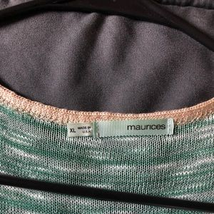 Maurices Jackets & Coats - Maurices Stripped Vest